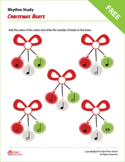 Christmas Beats Rhythm Study