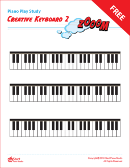 Creative Keyboard Piano Play Study