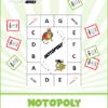 Notopoly (Middle C - Treble C) Mission: Adventure