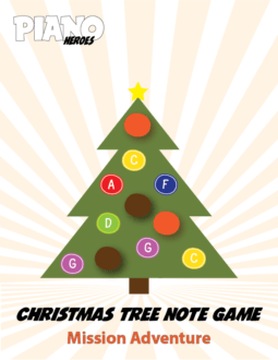 Christmas Tree Note Game