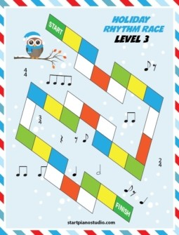 Holiday Rhythm Race Level 3
