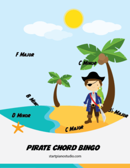 Pirate Cord Bingo