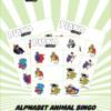 Alphabet Animal Bingo