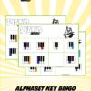 Alphabet Key Bingo