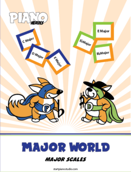 Major World - Major Scales
